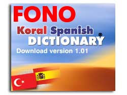 KORAL Spanish-Turkish Dictionary 1.01